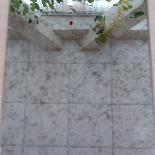Зеркало состаренное B1 4 2440-1830 мм
