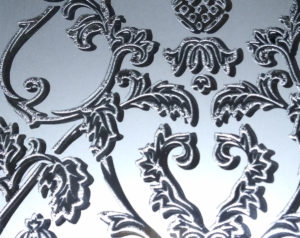 Декоративное узорчатое стекло