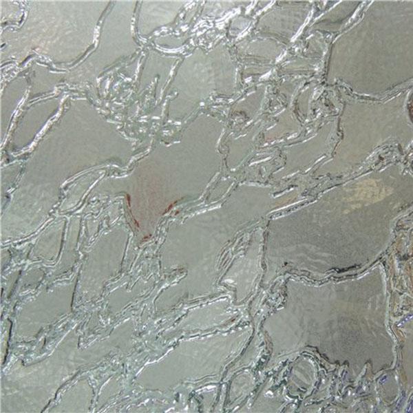 Узорчатое стекло Дельта (П) бесцветное 4х2100х1600 мм