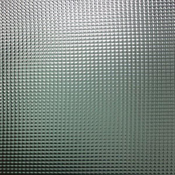 Узорчатое стекло КРИЗЕТ бесцветное 4х2100х1600 мм